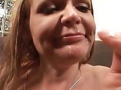 Milf swallow tube