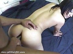 Milf interracial anal sex
