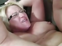 play with her breasts. hot sex