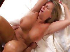 Big Tit White Milf Loving Black Cock