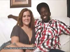 Big Boobs, Blowjob, Interracial