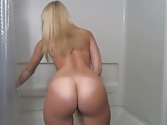 Pussy blonde big ass shaved