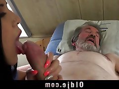 Blowjob, Brunette, Cumshot, Old and Young, Teen