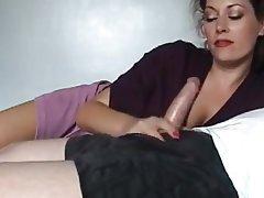 Incredible sexy mature bj