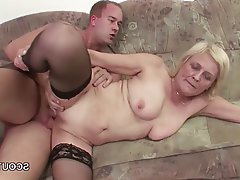 Granny, MILF, Old and Young, Stockings