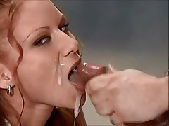Beautiful redhead facial porn tube video