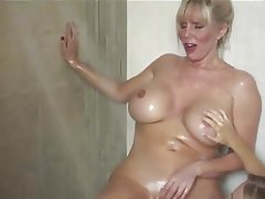 Mature lesbians in shower bvr