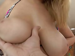 Babe, Big Boobs, Blonde, Blowjob, Cumshot