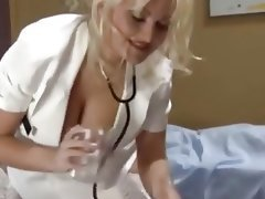 Blonde, Handjob, Medical