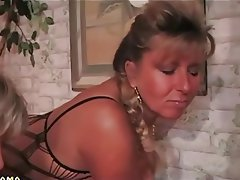 Hot german milf jumps hard