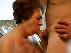 Grandmother sucking grandsons cock think