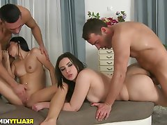 Nice reality kings hardcore threesome consider