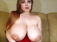 Big Boobs, Dildo, Saggy Tits, Webcam, Big Tits