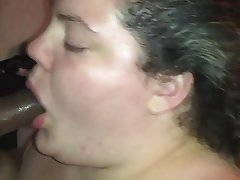 Amateur, BBW, Blowjob, Interracial