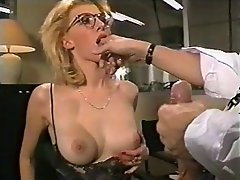 girls with glasses getting anal