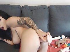 Webcam, Anal, Masturbation, Big Boobs, Dildo