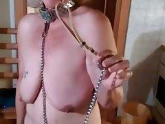 BDSM, Granny, Saggy Tits, BDSM