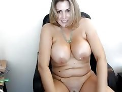 Webcam, Big Boobs, Massage, Big Nipples, Chubby