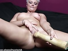 Amateur, Dildo, Homemade, Chubby