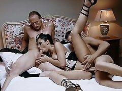 Russian, Russian, MILF, Threesome, Threesome