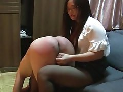Best of Chinese Spanking