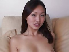 Asian, Cumshot, Foot Fetish, Interracial