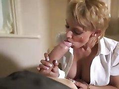 Blonde, Blowjob, Cumshot, Facial, Pornstar