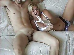 Teens sex in public