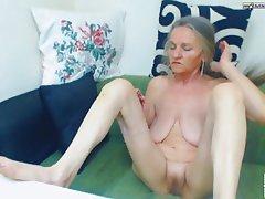 Granny anal amateur Free