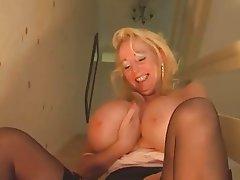Mature big boobs pov