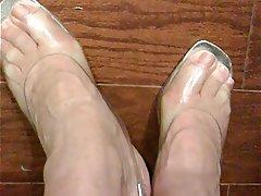 Foot Fetish, Masturbation, Mature