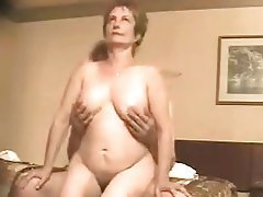 Mature couple in hardcore sex