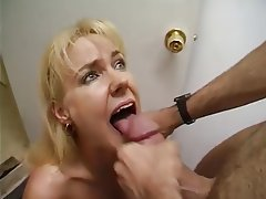 Amateur cocksucker blonde milf