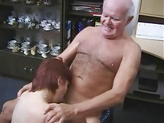 girl fucks old amateur man
