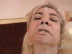 Secretly peeing herself