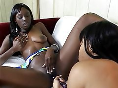Necessary words... flexible black girls getting fucked