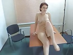 Mature masturbating and blow job