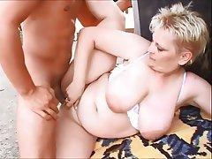 Hot brunette lady nude