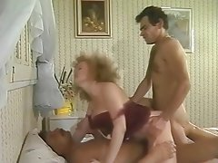 Vintage, Group Sex, Double Penetration, Cuckold, Threesome
