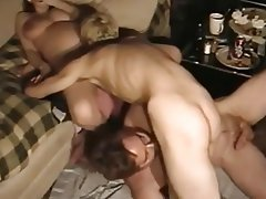 Amateur bisexual mmf threesome
