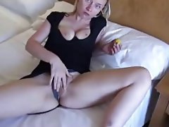 Blonde, German, Hairy, Masturbation