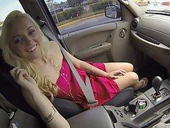 Amateur, Blonde, Blowjob, Car, Reality