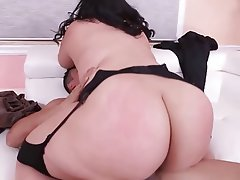 Sexy girls with sexy big booty an boobs riding dick