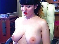 Amateur, Mature, Russian, Stockings, Webcam