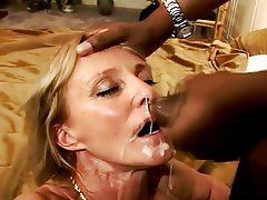 blowjob porn mature interracial