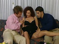 Cumshot, Double Penetration, Italian, Threesome, Vintage