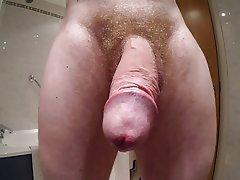 Bisexual, Cumshot, Hairy, Handjob, Masturbation