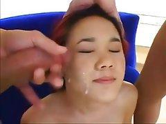 Asian, Cumshot, Hardcore, Small Tits