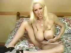 Boobs with big hot blonde milf