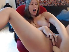 Babe, Masturbation, Orgasm, Webcam
